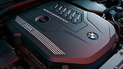 4-цилиндровый бензиновый двигатель BMW TwinPower Turbo.