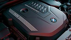 4-цилиндровый дизельный двигатель BMW TwinPower Turbo.