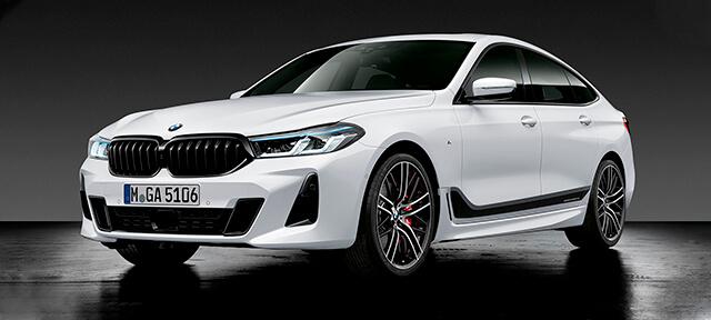 ДЕТАЛІ BMW M PERFORMANCE ДЛЯ BMW 6 СЕРІЇ GRAN TURISMO.