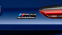 Позначення M8 Competition.