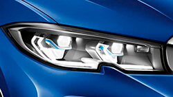Лазерні фари BMW.