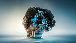 Рядний 6-циліндровий бензиновий двигун BMW TwinPower Turbo.