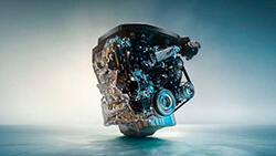 4-циліндровий дизельний двигун BMW TwinPower Turbo.