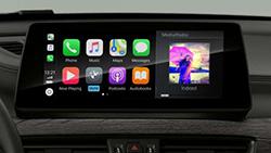 Підготовка к Apple CarPlay® на дисплеях і елементах управління.