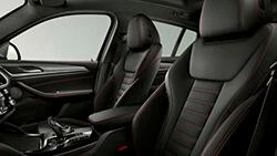 Спортивные сиденья для водителя и переднего пассажира.