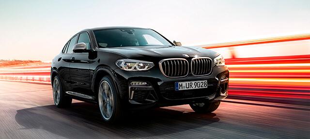 BMW X4 M40i И BMW X4 M40d.