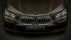 Решетка радиатора BMW 'Iconic Glow'.