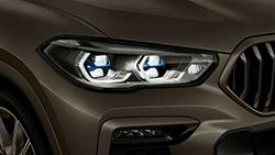 Лазерные фары BMW.