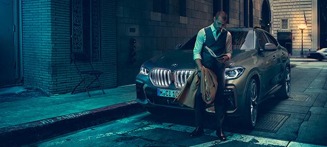 ОСОБЕННОСТИ ДИЗАЙНА BMW X6.