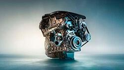 6-цилиндровый дизельный двигатель BMW TwinPower Turbo.