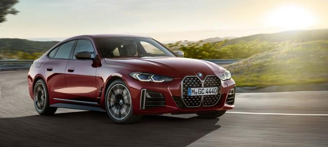 BMW Group представляет новый BMW 4 серии Gran Coupé.