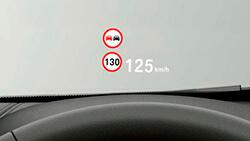 Проекционный дисплей BMW.
